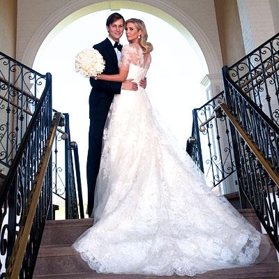Ivanka Trump Wedding Reception.Thursday S Celebrity Inspiration Ivanka Trump Bridal Thoughts