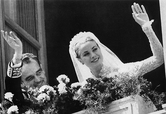 19. grace kelly wedding 1956