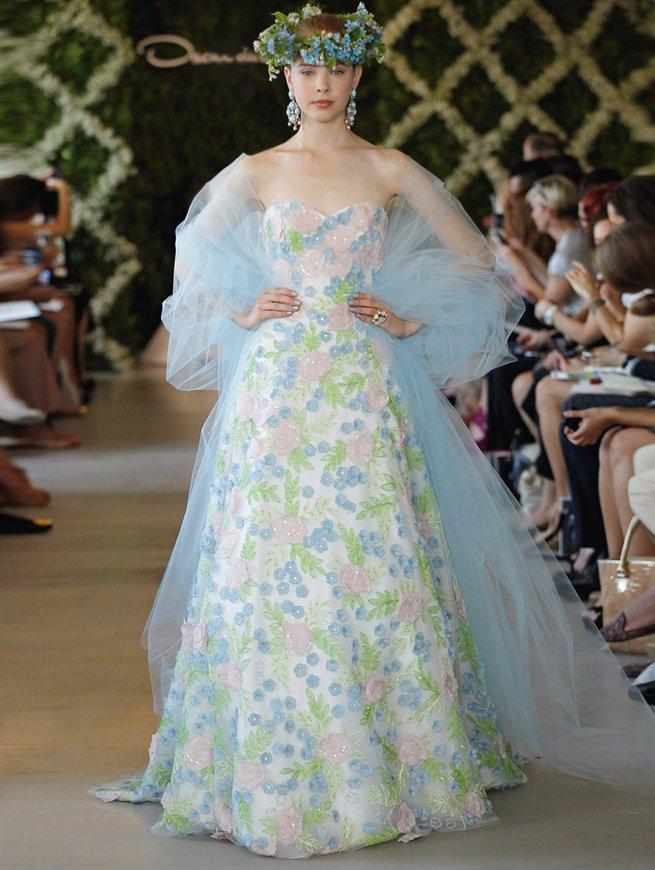 Oscar bridal look 10
