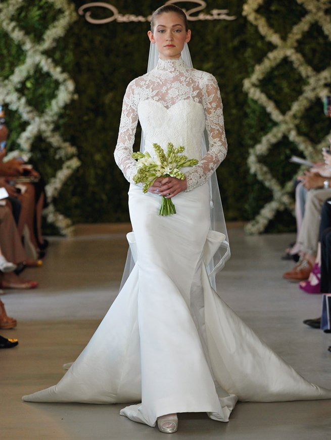 Oscar bridal look 11
