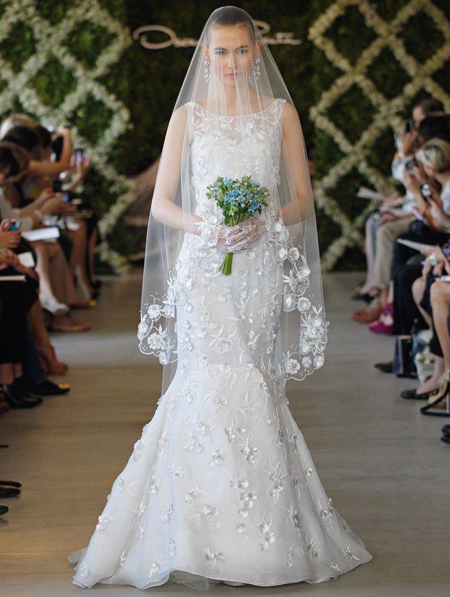 Oscar bridal look 13