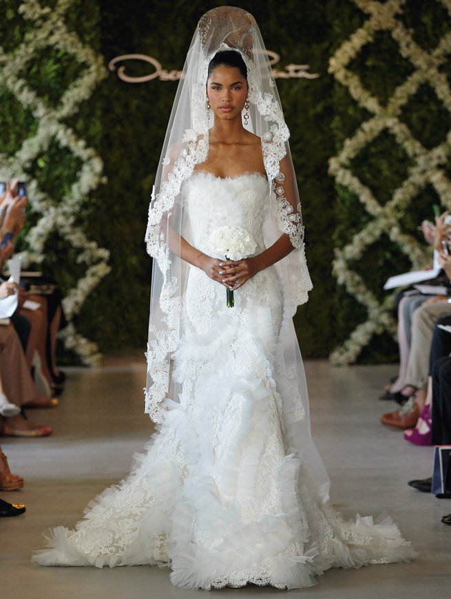 Oscar bridal look 14