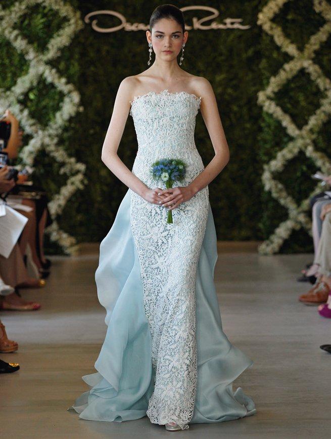 Oscar bridal look 18