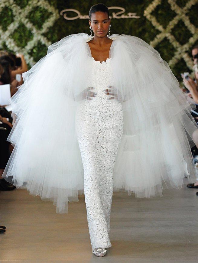 Oscar bridal look 2