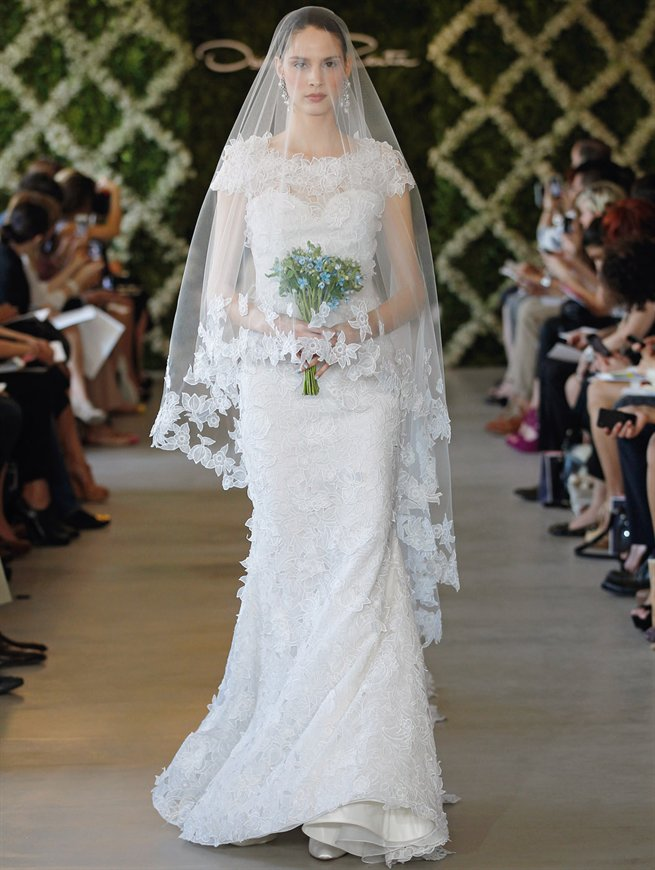 Oscar bridal look 20