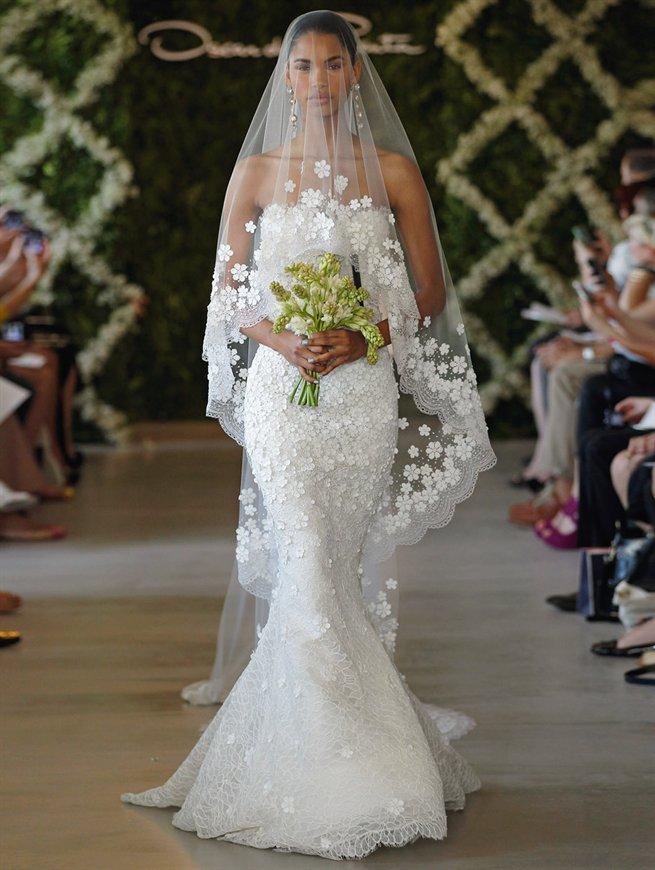 Oscar bridal look 27