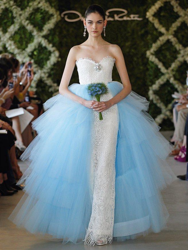 Oscar bridal look 33