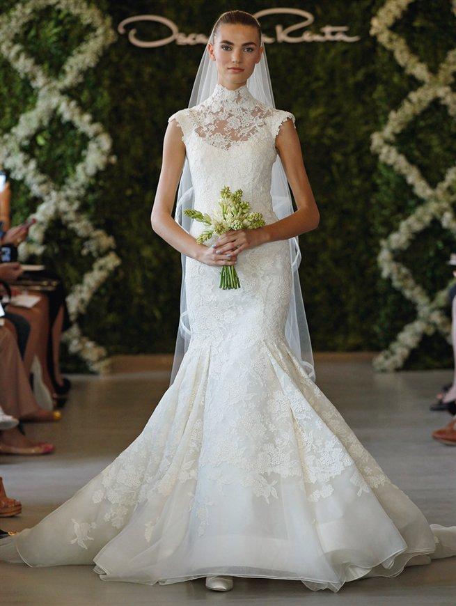 Oscar bridal look 9