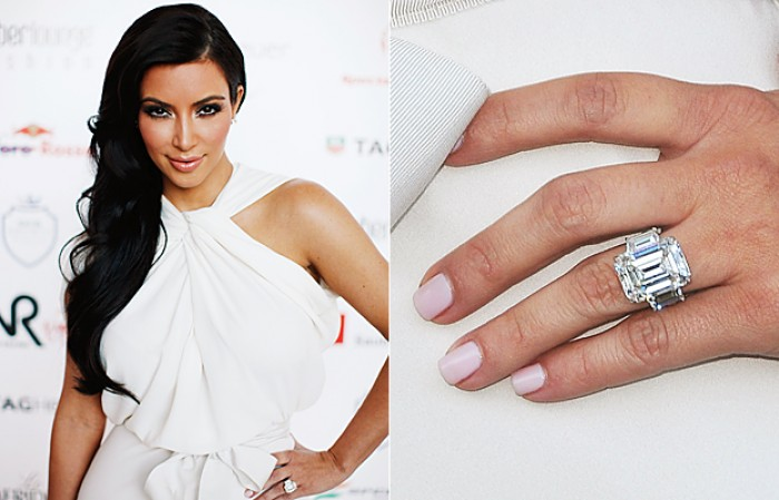 Celebrity Engagement Rings Bridal Thoughts
